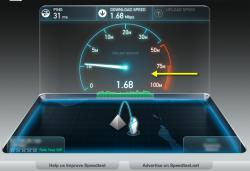 تعديل سرعة خط الانترنت